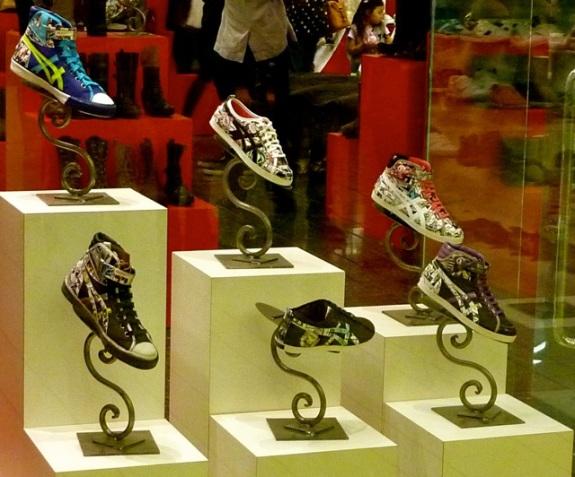 Tokidoki x Onitsuka Tiger Shoes at Eilatan